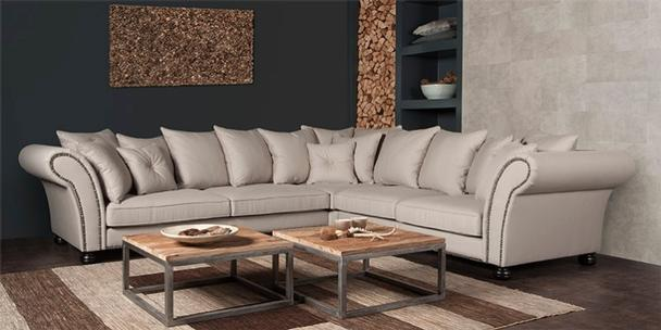 ecksofa landhausstil romantisch wohnen sofas sessel st hle bei m belhaus d sseldorf. Black Bedroom Furniture Sets. Home Design Ideas