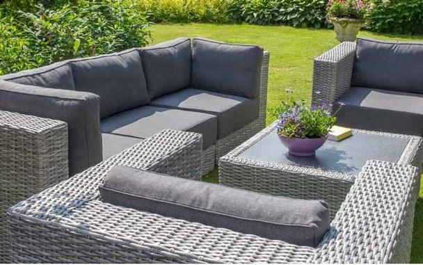 garten loungeset d sseldorf modular loungem bel gartenm bel alle m bel bei m belhaus. Black Bedroom Furniture Sets. Home Design Ideas