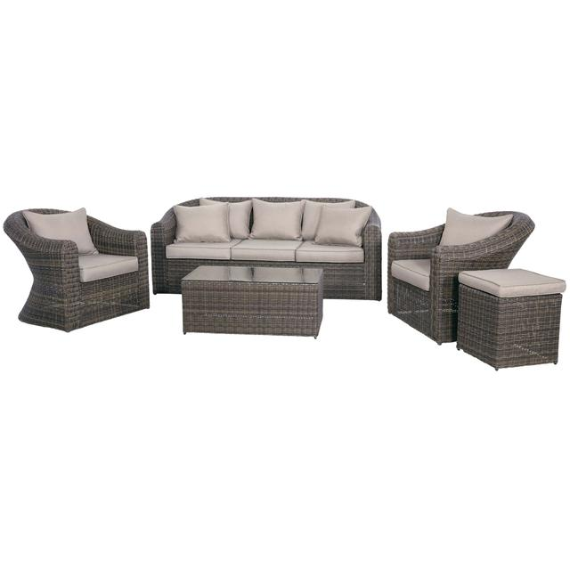 garten set berlin aus rattan loungem bel gartenm bel alle m bel bei m belhaus d sseldorf. Black Bedroom Furniture Sets. Home Design Ideas