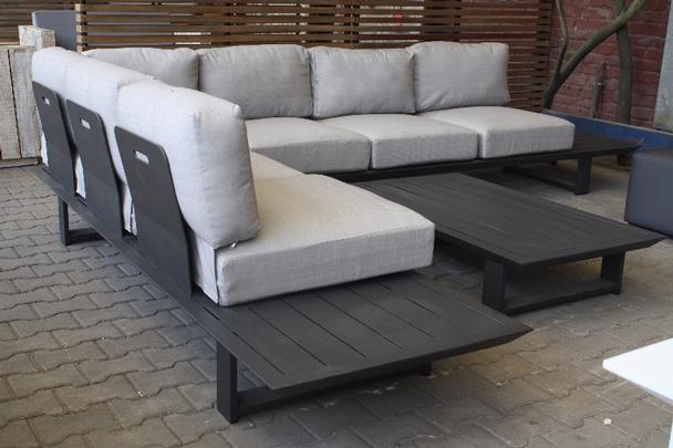 gartenset im angebot aus aluminium mit tisch schn ppchen. Black Bedroom Furniture Sets. Home Design Ideas