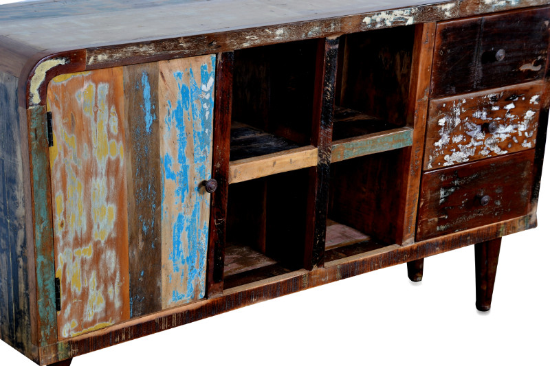 indische kommode im vintage look kommoden sideboards. Black Bedroom Furniture Sets. Home Design Ideas