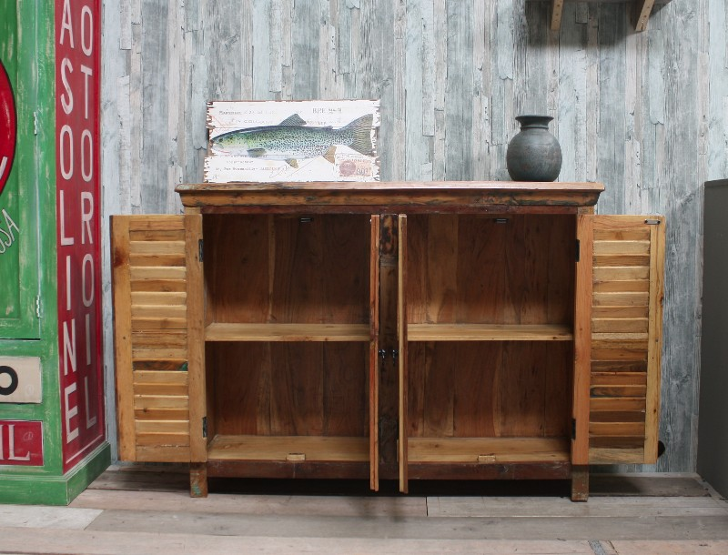 indischer kommodenschrank im vintage look kommoden sideboards industrielle m bel bei. Black Bedroom Furniture Sets. Home Design Ideas