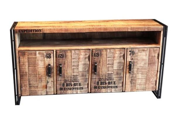 Industrial Chic Tv Schrank Industrial Chic Möbel Sideboard Bei