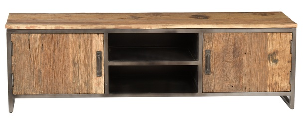 Industrielles Tv Sideboard Altholz Industrial Chic Mobel Sideboard