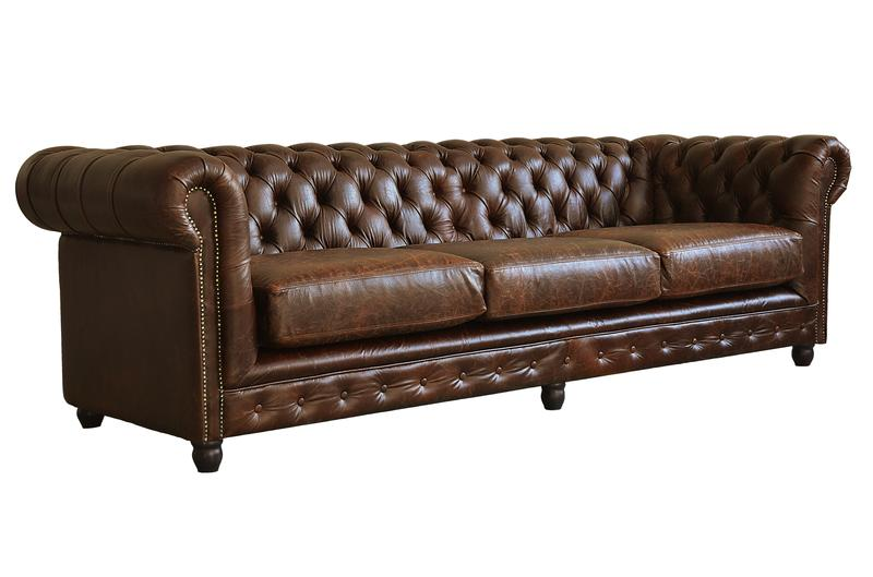 klassisches chesterfield sofa sofas couches alle. Black Bedroom Furniture Sets. Home Design Ideas