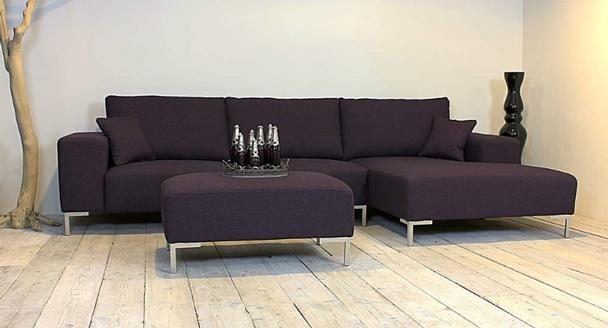 loungesofa schlicht aus stoff sofas sessel st hle bei m belhaus d sseldorf. Black Bedroom Furniture Sets. Home Design Ideas