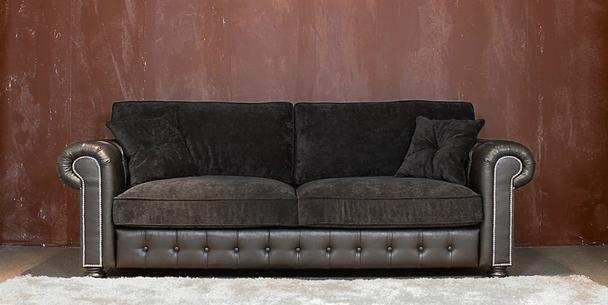 moderne couchgarnitur berlin aus stoff sofas sessel st hle bei m belhaus d sseldorf. Black Bedroom Furniture Sets. Home Design Ideas