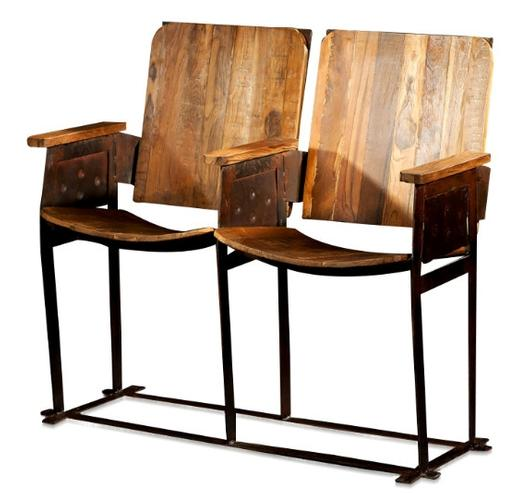 retro kinositze india holzb nke sitzb nke alle m bel bei m belhaus d sseldorf. Black Bedroom Furniture Sets. Home Design Ideas