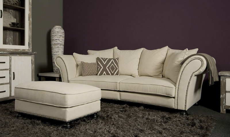 Romantisches sofa landhausstil sofas sessel st hle for Sofa landhausstil schweiz