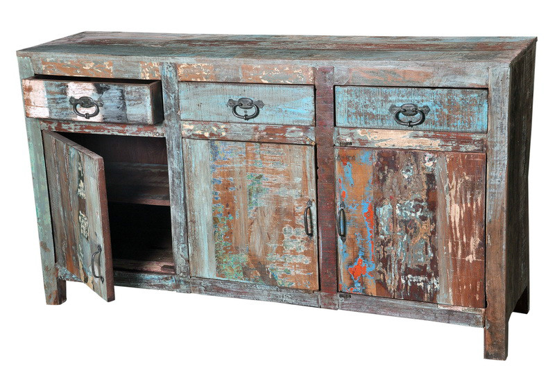 Awesome Shabby Chic Kommode Bunt Aus Altem Holz Kommoden U Sideboards Vintage Mbel Bei Mbelhaus Dsseldorf With Bunte