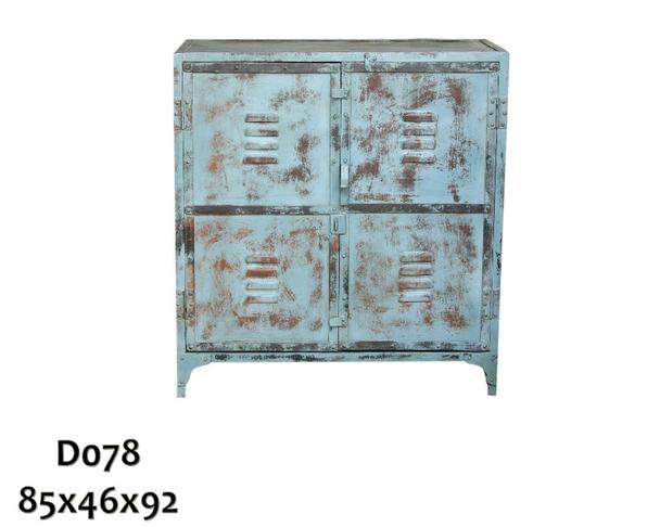 Shabby Chic Kommode Im Industriellen Design Industrial Chic Mobel