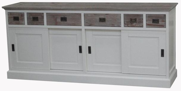 Armadio Shabby Chic On Line : Sideboard shabby chic weiss: sdb st sideboard anrichte kommode weiß