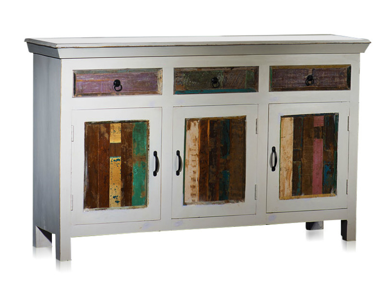 sideboard white wash im shabby chic stil kategorien m belhaus d sseldorf. Black Bedroom Furniture Sets. Home Design Ideas